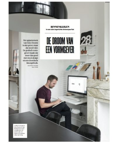 DE MORGEN MAGAZINE app Dooms