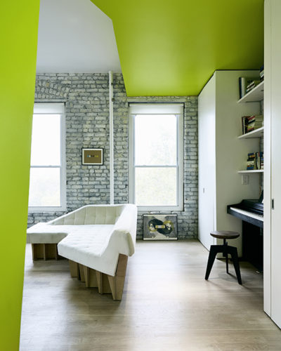 Green apartment New York / total of 29 photos